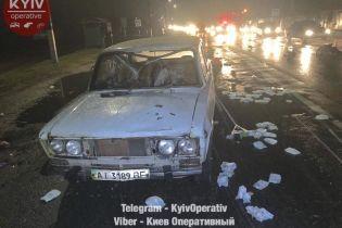 Под Киевом водитель на внедорожнике сбил троих женщин и сбежал