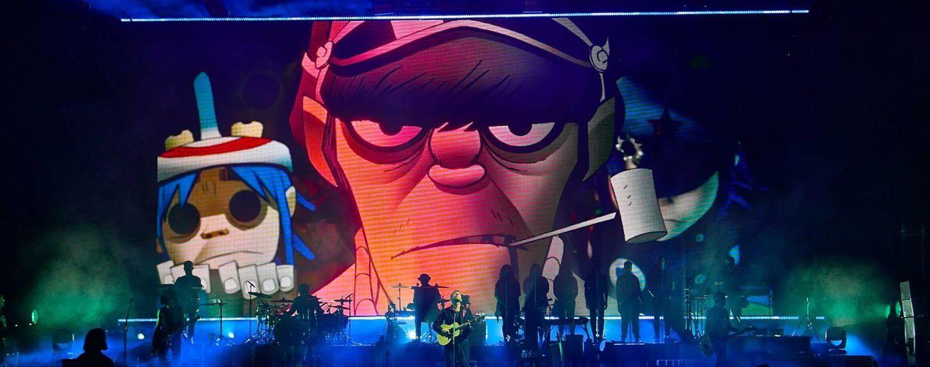Легендарні Gorillaz вперше виступлять в Україні