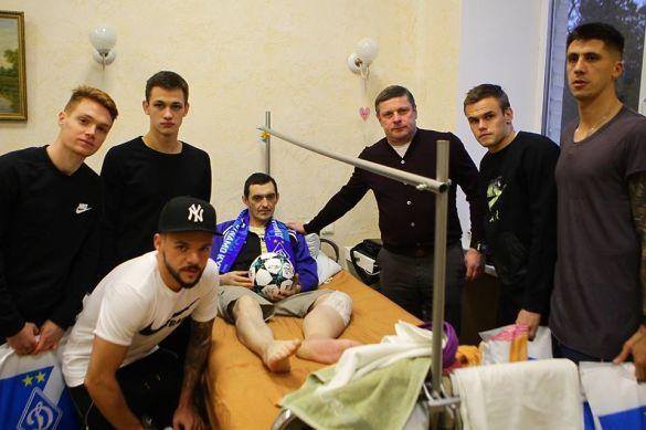 Динамо провідало поранених бійців АТО_6