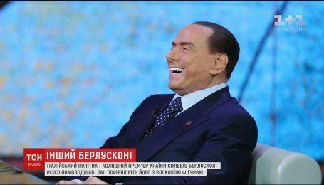 Берлускони возвращается: политик поразил мир своей новой внешностью