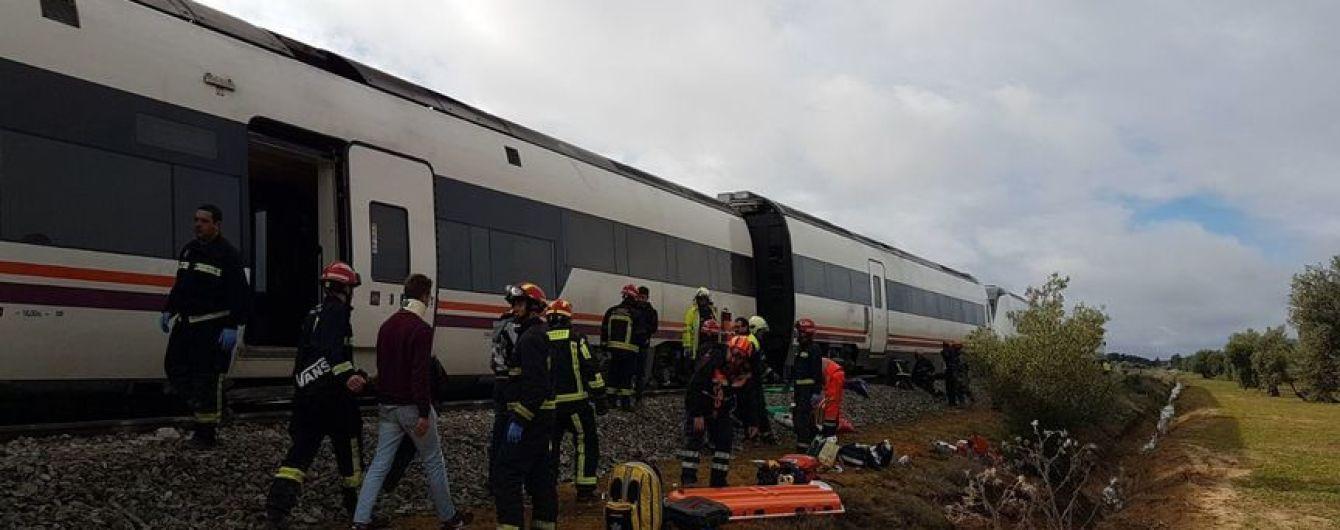 В Іспанії з рейок зійшов пасажирський поїзд, десятки постраждалих