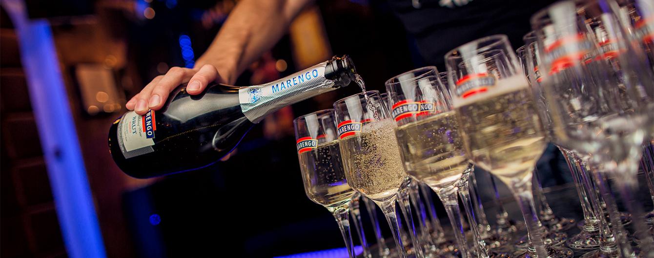 Новий лідер на ринку шампанських вин України Marengo потіснив колишніх лідерів і представив шампанське формату магнум