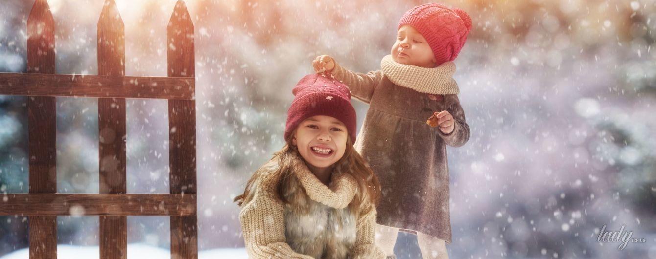 Питание детей зимой