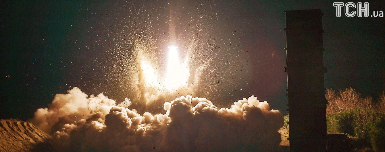 Появилось видео запуска ракеты КНДР, которая может достичь любой точки США