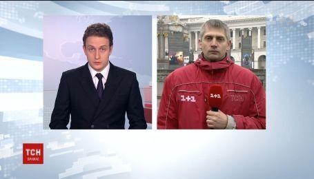 В четвертую годовщину разгона студентов к Михайловскому собору в Киеве никто не пришел