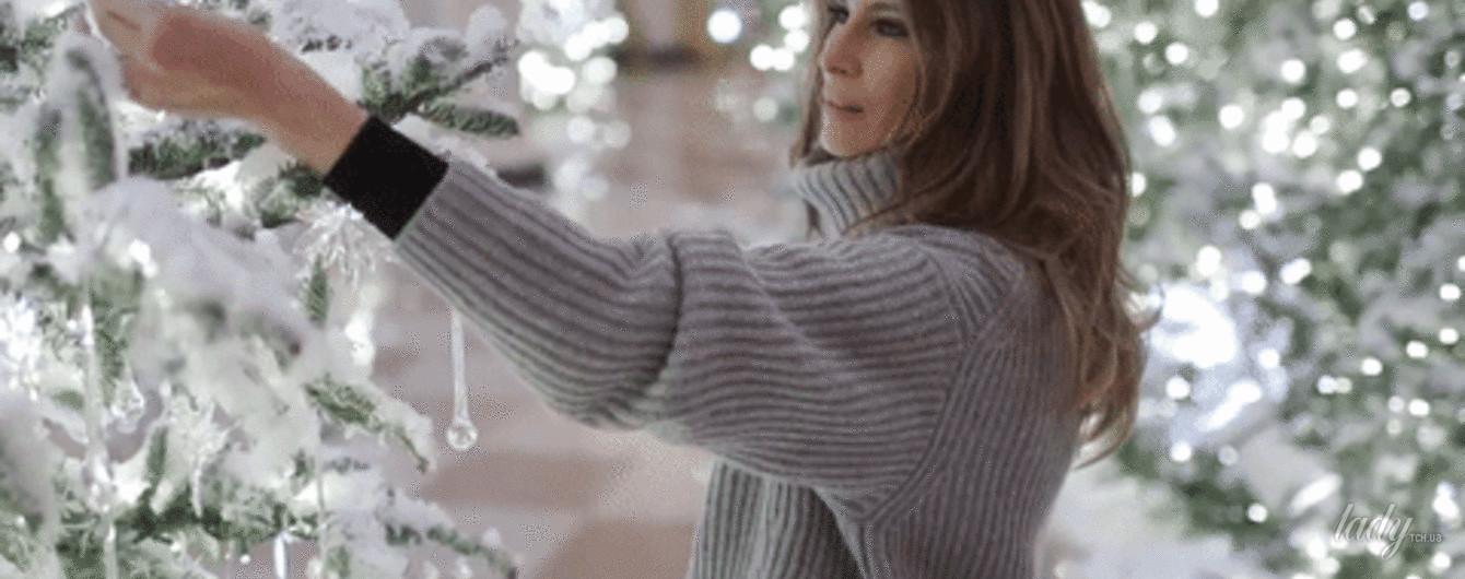 Хозяйка Белого дома: Мелания Трамп показала, как украшали Белый дом к Рождеству