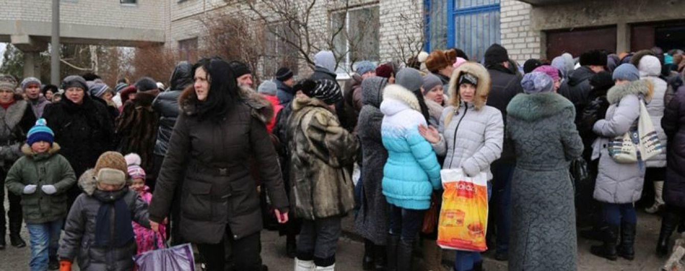 Переселенцы вынуждены возвращаться в ОРДЛО из-за недостатка средств на еду и жилье