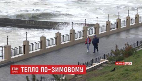 Весна зимой. В Одессе синоптики прогнозируют +15