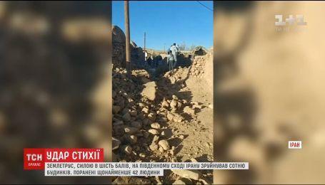 Іран сколихнув потужний землетрус, є поранені