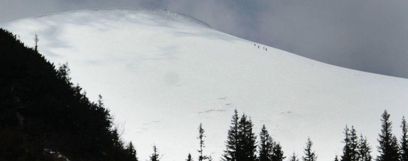 Рятувальники попередили про значну лавинну небезпеку у Карпатах