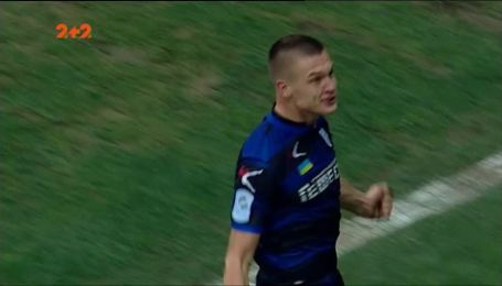 Черноморец - Заря - 1:1. Видео гола Хобленко