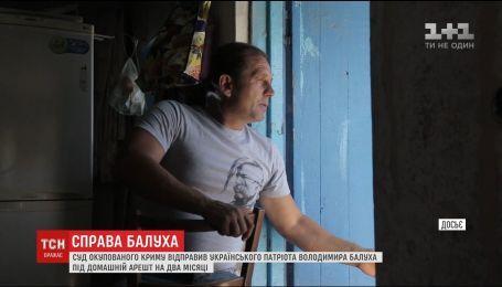Суд Крыма отпустил украинца Владимира Балуха под домашний арест