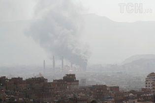 Внаслідок удару по столиці Ємену загинули десятки повстанців і їхні командири