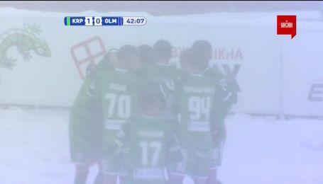Карпати - Олімпік - 1:0. Відео голу Мякушка