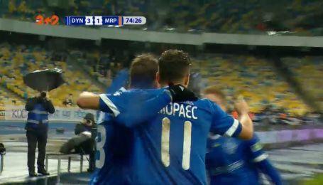 Динамо - Мариуполь - 3:1. Видео гола Мораеса