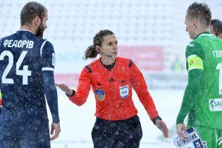 """Перерваний через снігопад матч """"Карпати"""" - """"Олімпік"""" дограють у 2018 році"""