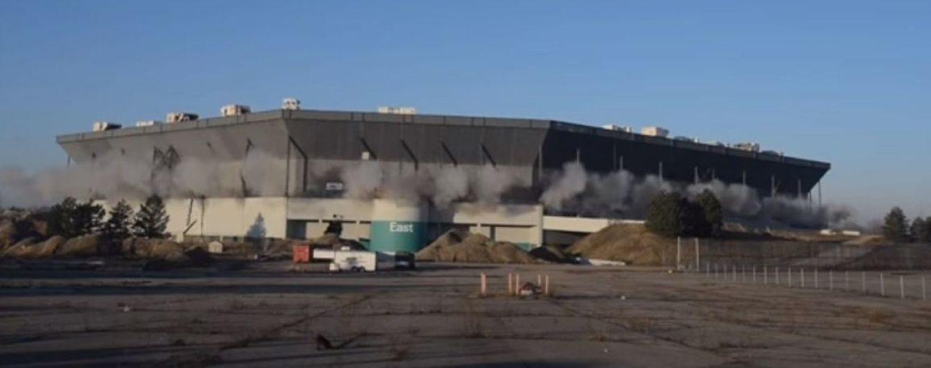 У Детройта не смогли взорвать стадион: арена устояла