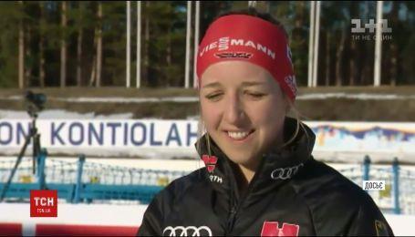 Российский чиновник пытался испортить допинг-пробы украинской биатлонистки Семеренко