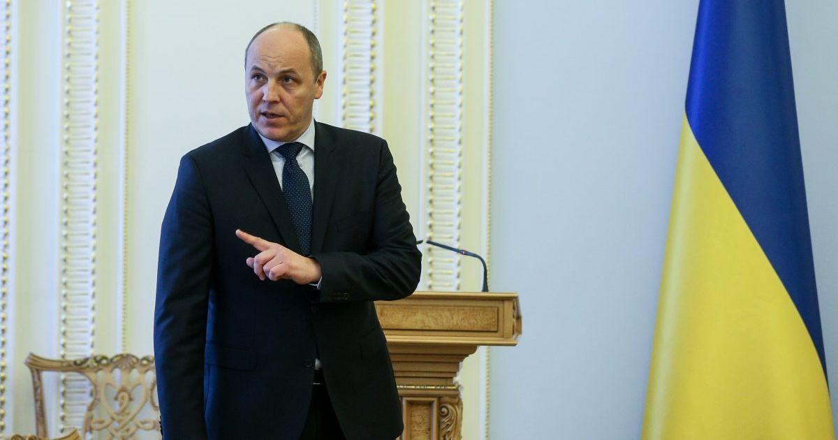Парубий рассказал о более четырех тысяч поправок к проекту Избирательного Кодекса