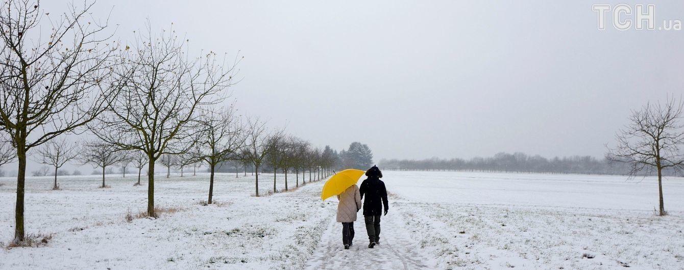 Половину України притрусить сніг. Прогноз погоди на 5 грудня