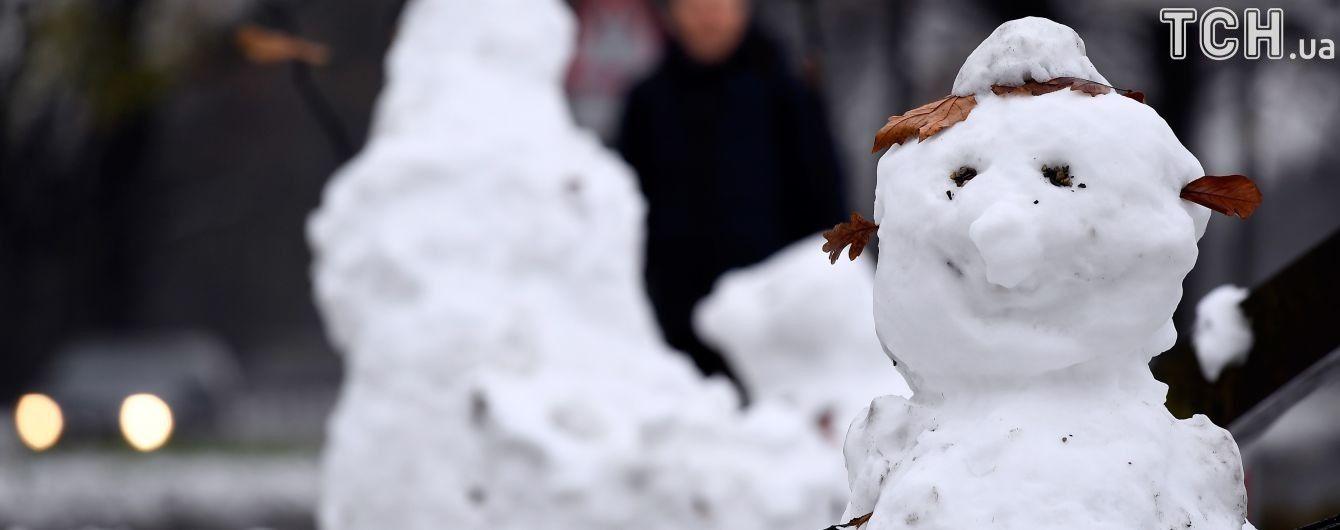 Тиждень буде зі снігами, дощами та ожеледицею. Прогноз погоди на 5-9 грудня
