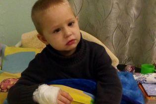 За лічені дні для порятунку життя Кирилка потрібно зібрати 23 тисячі доларів