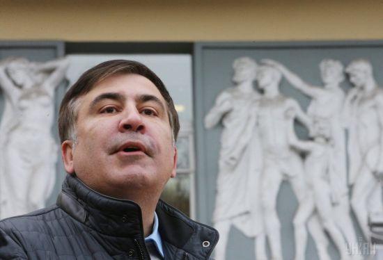 """У партії """"Слуга народу"""" заявили, що Саакашвілі не зможе потрапити до списку на вибори"""