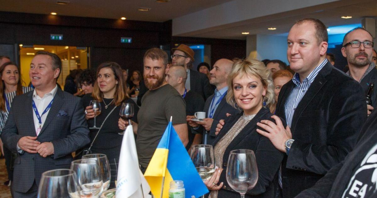 Украинская делегация в Таллинне