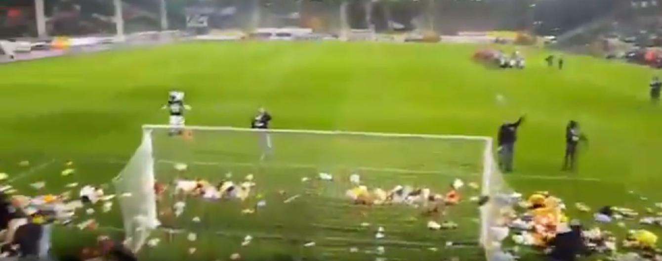 Поступок года: бельгийские болельщики сделали очень хорошую акцию на матче чемпионата