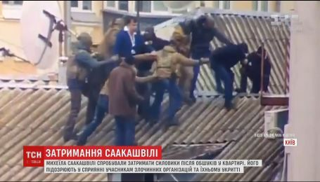 Подробности попытки скандального задержания Саакашвили