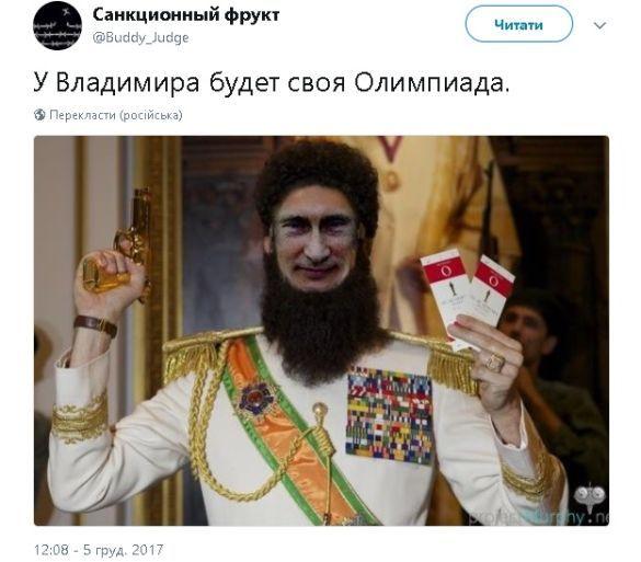 Реакція соцмереж на відсторонення росії від оі-2018_9