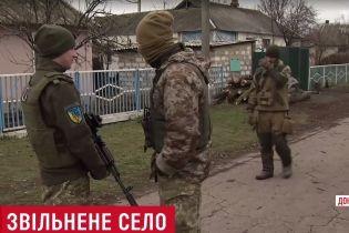 Журналисты ТСН попали под обстрел боевиков возле освобожденного Травневого
