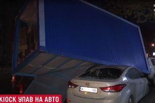 Масштабное ДТП в Киеве спровоцировал неправильно натянутый провод