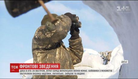 Пригород Авдеевки оккупанты обстреляли из минометов и гранатометов