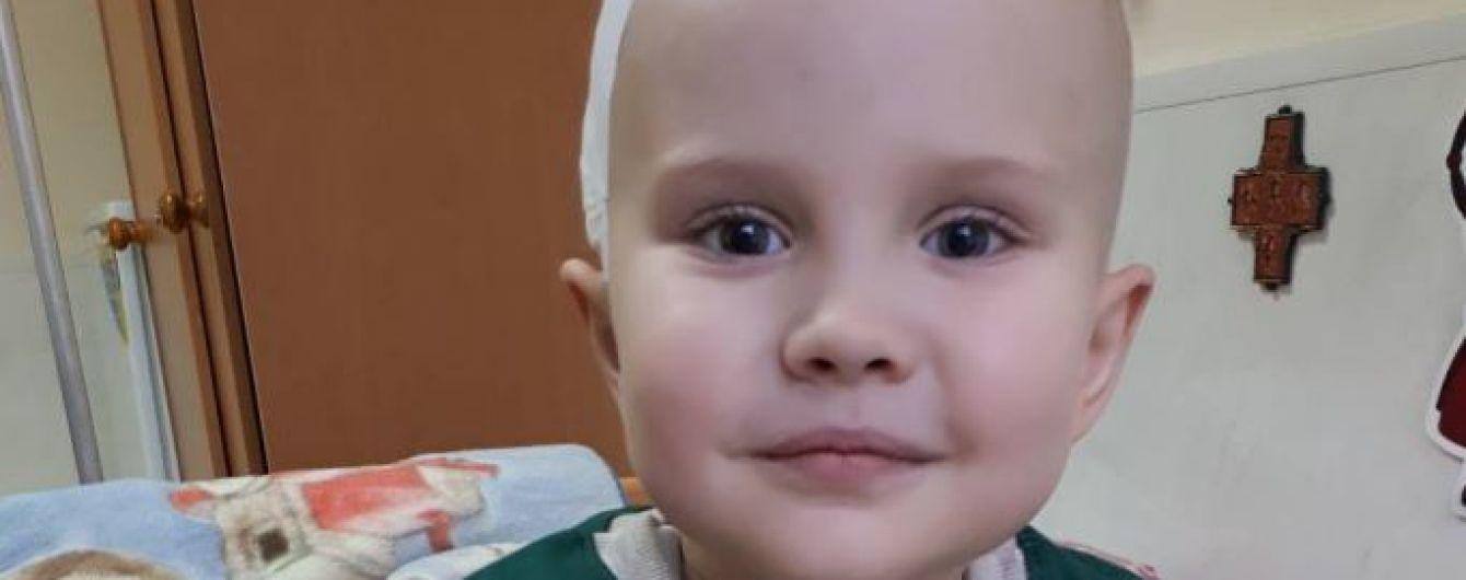 Огромная опухоль мозга поразила 5-летнего Максима