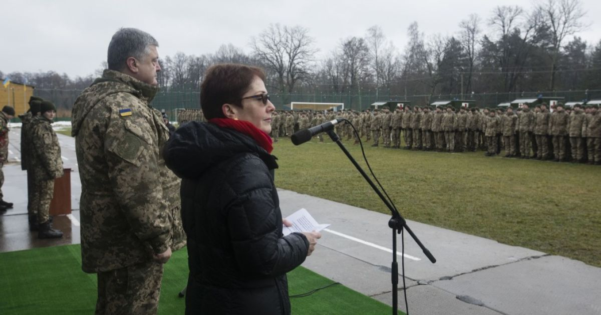 Петро Порошенко та Марі Йованович @ Сайт президента України