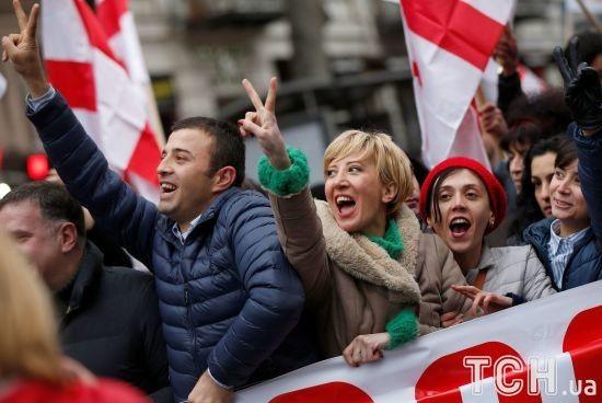 У Грузії опозиція оголосила безстрокові акції протесту