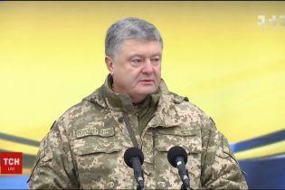 Петро Порошенко відреагував на події навколо Саакашвілі