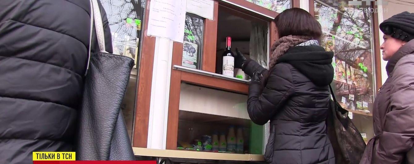 У Києво-Печерській лаврі продають отримане як благодійну пожертву вино по 3,5 тисячі грн за пляшку