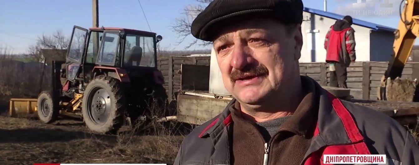 Безногий коммунальщик с золотыми руками прославился своей работой на Днепропетровщине