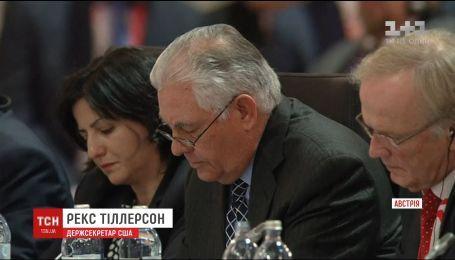 Рекс Тіллерсон назвав умову, за якої США може зняти санкції з Росії