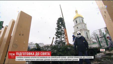 Організатори обіцяють відкриття різдвяного містечка без запізнень