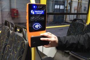 Почти полмиллиона украинцев для проезда в общественном транспорте воспользовались электронными билетами