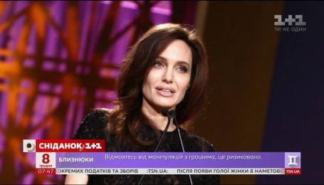 Анджелина Джоли выступила с эмоциональной речью о защите женщин