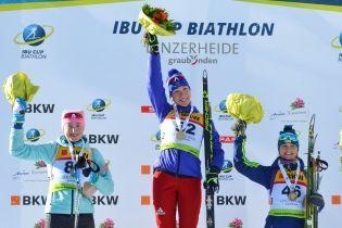 Дві українські біатлоністки зійшли на п'єдестал у спринті на Кубку IBU