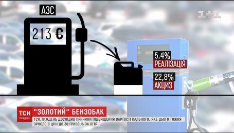 ТСН.Тиждень з'ясувала причини підвищення вартості пального