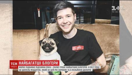 Forbes назвал самого богатого блогера мира