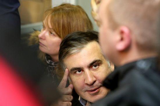 """""""Ще трошки потерплю"""": Саакашвілі відреагував на небажання прикордонників пускати його в Україну"""