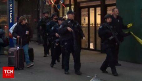 В Нью-Йорке произошел взрыв на автостанции