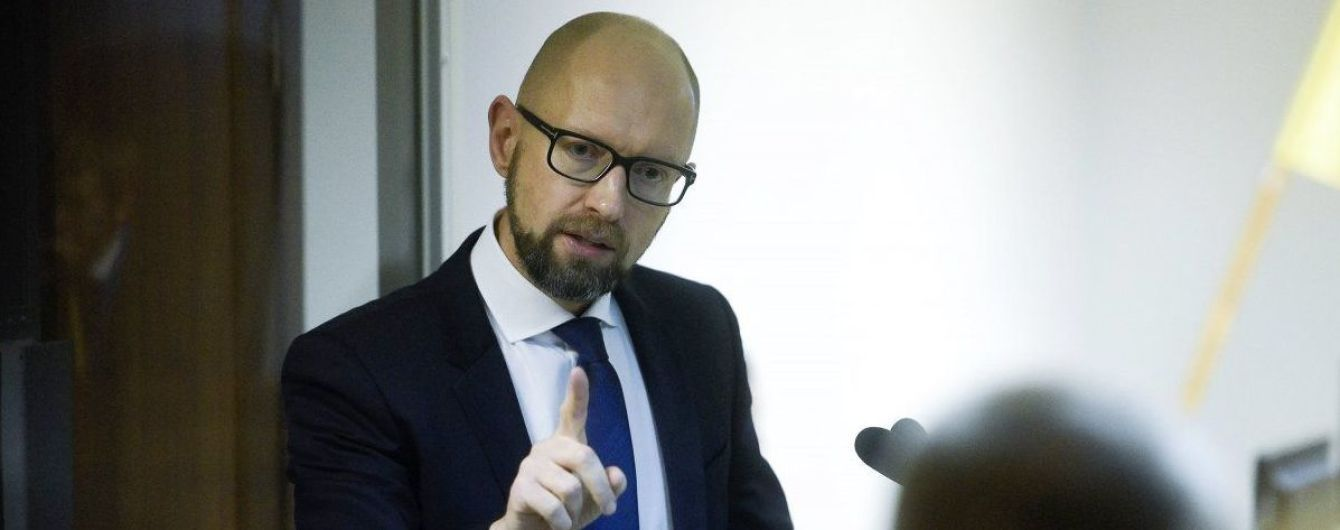 Путин хочет переизбраться на должность за счет Крыма – Яценюк
